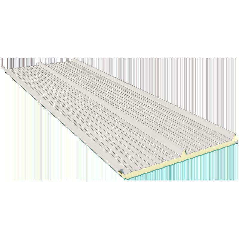 G3 80 mm, dachowe płyty warstwowe RAL 9002