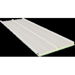 G3 100 mm, střešní sendvičové panely RAL 9002