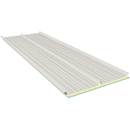 G3 120 mm, roofing sandwich panels RAL 9002