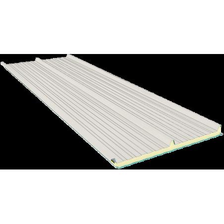 G3 120 mm, střešní sendvičové panely RAL 9002