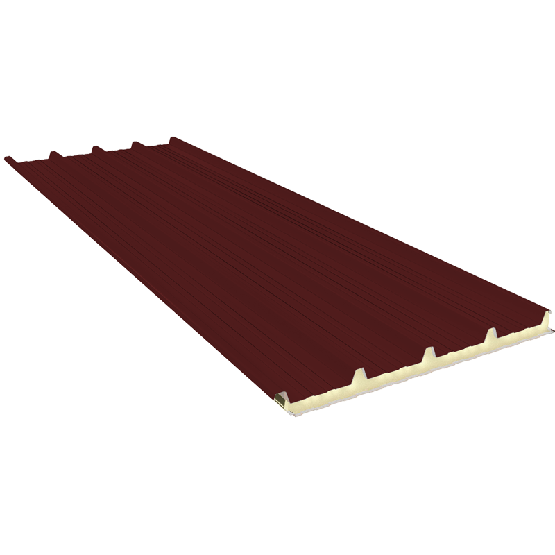G5 140 mm, roofing sandwich panels RAL 3009