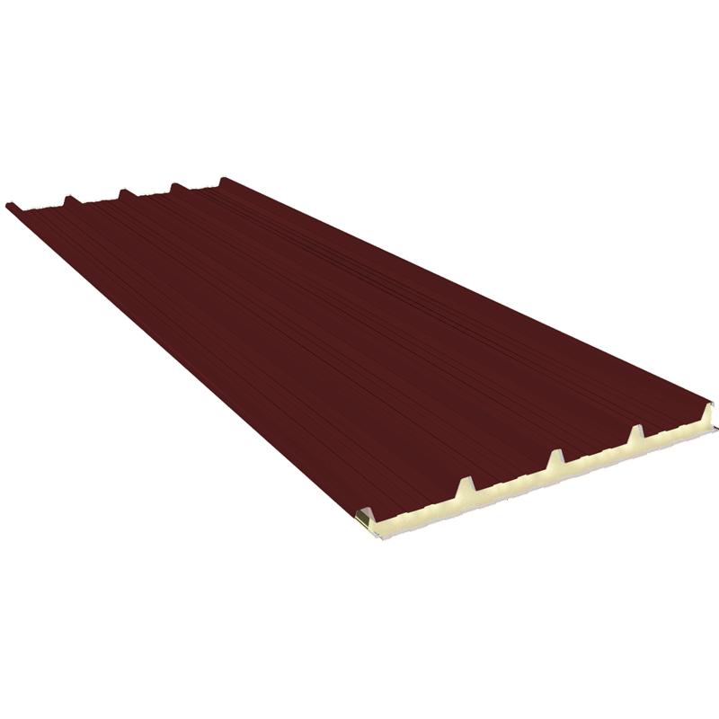 G5 140 mm, střešní sendvičové panely RAL 3009