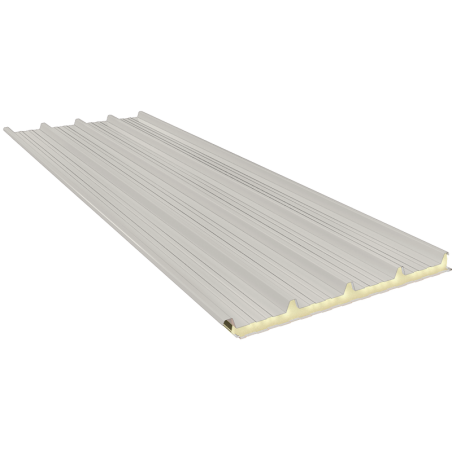 G5 140 mm, roofing sandwich panels RAL 9002