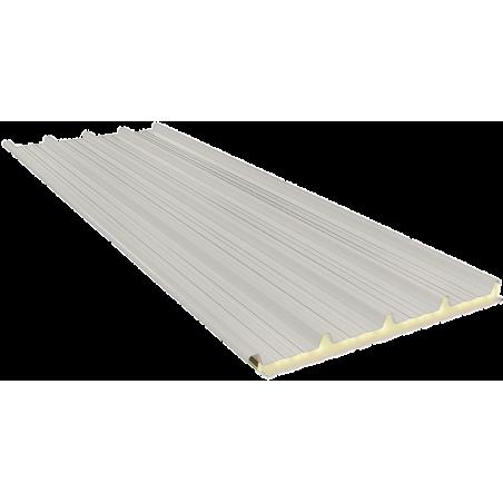 G5 60 mm, dachowe płyty warstwowe RAL 9002