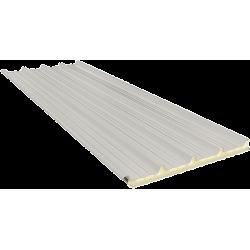 G5 80 mm, střešní sendvičové panely RAL 9002