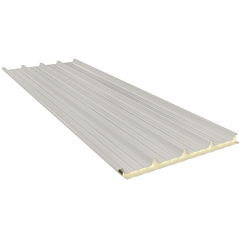 G5 100 mm, roofing sandwich panels RAL 9002
