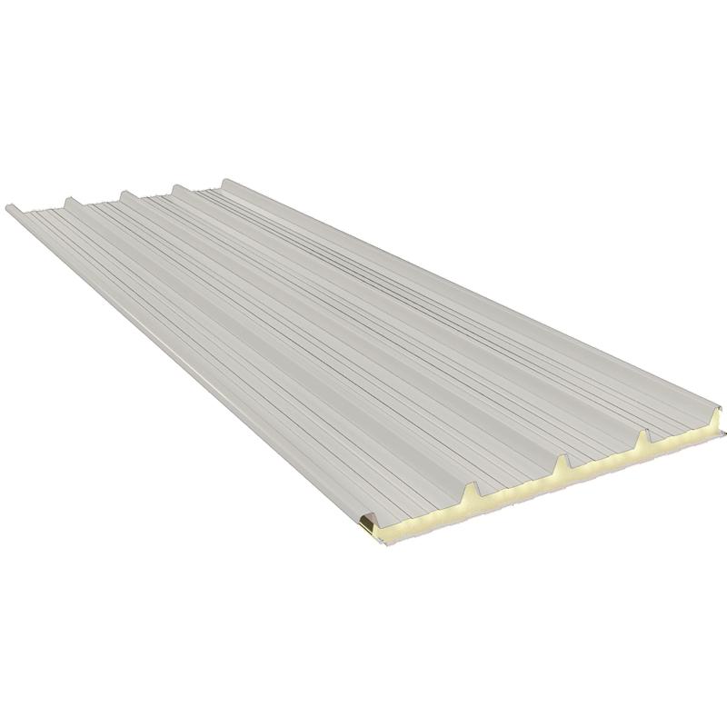 G5 100 mm, střešní sendvičové panely RAL 9002