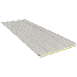 G5 120 mm, dachowe płyty warstwowe RAL 9002