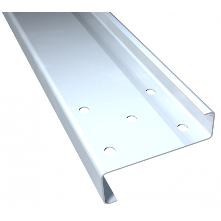 Steel Z-profiles, roof purlins