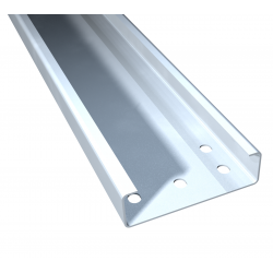 Steel C-profiles, roof purlins