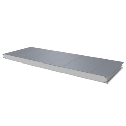 PWS-S - 50 MM, Wall panels, polystyrene RAL 9006