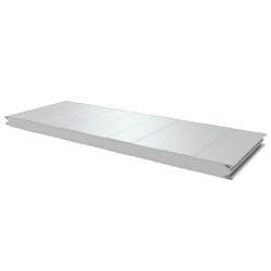 PWS-S - 50 MM, Wall panels, polystyrene RAL 9010