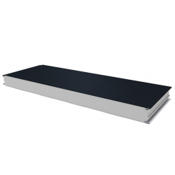 PWS-S - 75 MM, Wall panels, polystyrene RAL 7016
