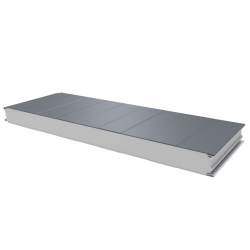 PWS-S - 75 MM, Wall panels, polystyrene RAL 9006