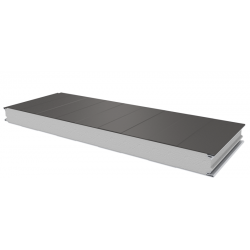 PWS-S - 75 MM, Wall panels, polystyrene RAL 9007