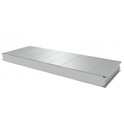 PWS-S - 75 MM, Wall panels, polystyrene RAL 9010