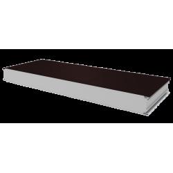 PWS-S - 100 MM, Stěnové panely, polystyren RAL 8017