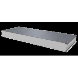 PWS-S - 100 MM, Stěnové panely, polystyren RAL 9006