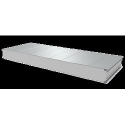 PWS-S - 100 MM, Stěnové panely, polystyren RAL 9010