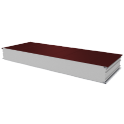 PWS-S - 125 MM, Wall panels, polystyrene RAL 3009