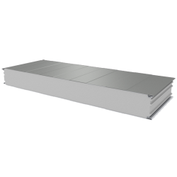 PWS-S - 125 MM, Wall panels, polystyrene RAL 7035