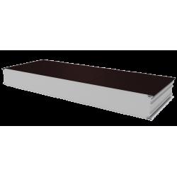 PWS-S - 125 MM, Stěnové panely, polystyren RAL 8017