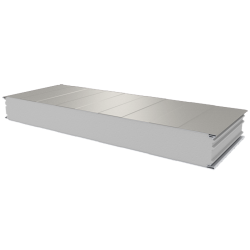 PWS-S - 125 MM, Wall panels, polystyrene RAL 9002