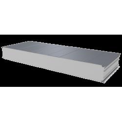 PWS-S - 125 MM, Stěnové panely, polystyren RAL 9006