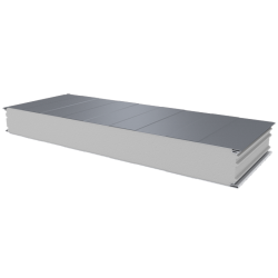 PWS-S - 125 MM, Wall panels, polystyrene RAL 9006
