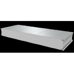 PWS-S - 125 MM, Stěnové panely, polystyren RAL 9010