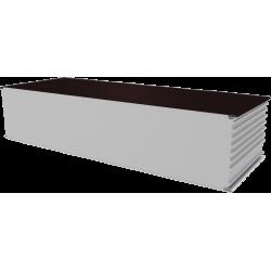 PWS-S - 250 MM, Stěnové panely, polystyren RAL 8017