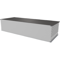 PWS-S - 250 MM, Wall panels, polystyrene RAL 9007