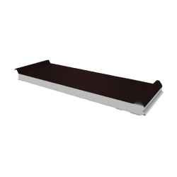 PWD-S - 50 MM, Dachplatten, Styropor RAL 8017