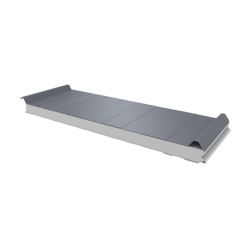 PWD-S - 50 MM, Roofing panels, polystyrene RAL 9006