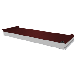 PWD-S - 75 MM, Roofing panels, polystyrene RAL 3009