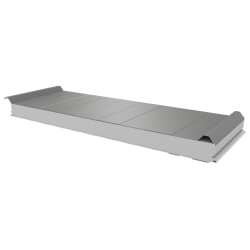 PWD-S - 75 MM, Dachplatten, Styropor RAL 7035