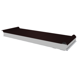 PWD-S - 75 MM, Roofing panels, polystyrene RAL 8017