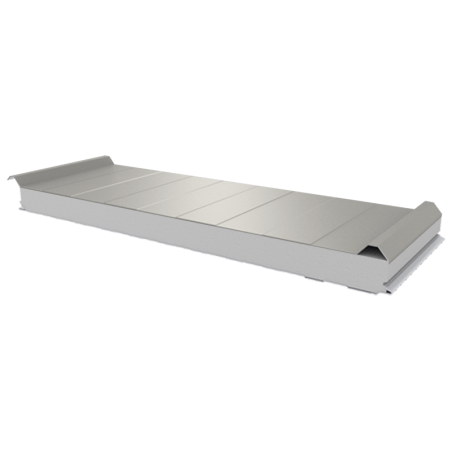 PWD-S - 75 MM, Roofing panels, polystyrene RAL 9002
