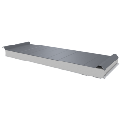 PWD-S - 75 MM, Roofing panels, polystyrene RAL 9006