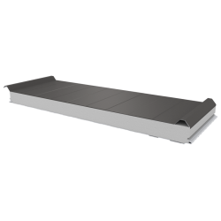 PWD-S - 75 MM, Roofing panels, polystyrene RAL 9007