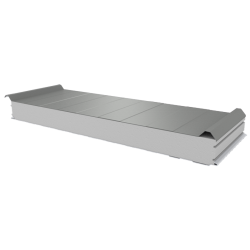 PWD-S - 100 MM, Roofing panels, polystyrene RAL 7035