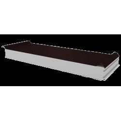 PWD-S - 100 MM, Střešní panely, polystyren RAL 8017