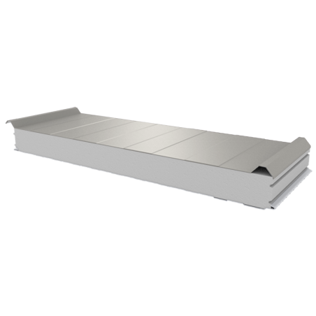 PWD-S - 100 MM, Roofing panels, polystyrene RAL 9002