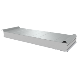 PWD-S - 100 MM, Roofing panels, polystyrene RAL 9010