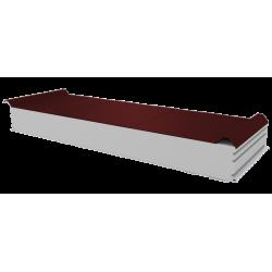 PWD-S - 125 MM, Płyty dachowe, styropian RAL 3009