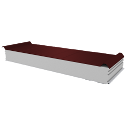 PWD-S - 125 MM, Roofing panels, polystyrene RAL 3009