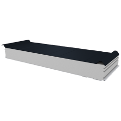 PWD-S - 125 MM, Roofing panels, polystyrene RAL 7016