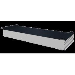 PWD-S - 125 MM, Střešní panely, polystyren RAL 7016