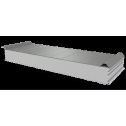 PWD-S - 125 MM, Dachplatten, Styropor RAL 7035
