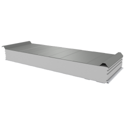 PWD-S - 125 MM, Roofing panels, polystyrene RAL 7035